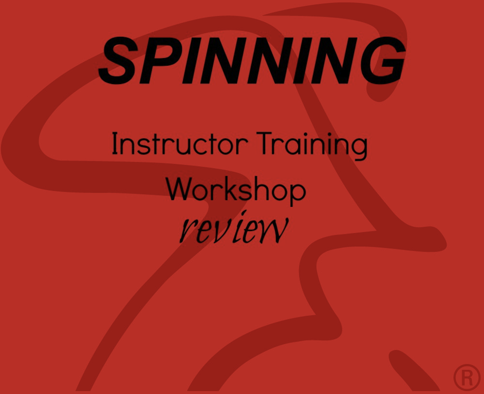 Spinning Instructor Training Review - Paige Kumpf