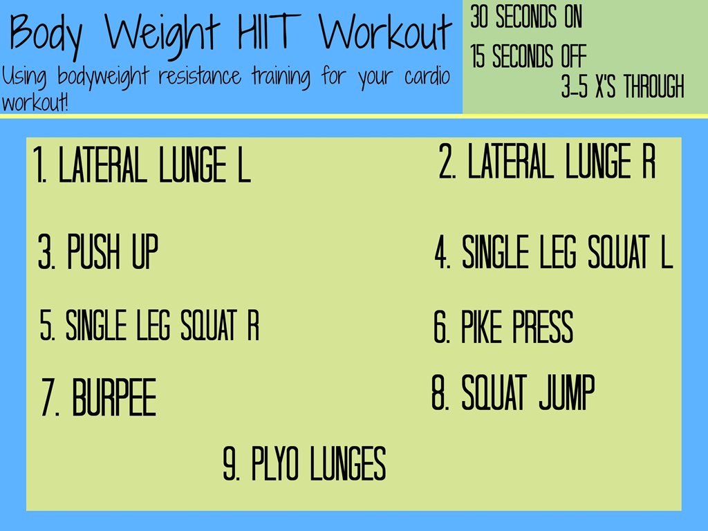 Bodyweight Hiit Workout You Can Do At Home With No Equipment Paige January Indoor Full Body Circuit Timed Image