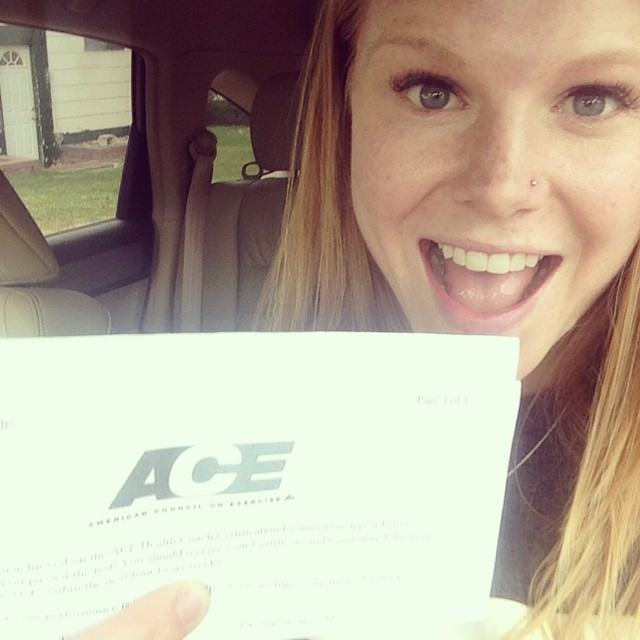 i'm an ace certified health coach! - paige kumpf