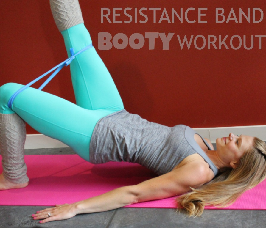 Workout Bands Booty: Lower Body: Resistance Band Booty Workout