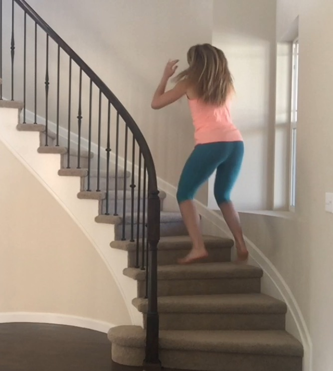 Stair Workout At Home Cardio