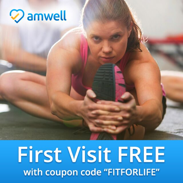 Online Nutritional and Medical Advice 24/7 – #AmwellFIT
