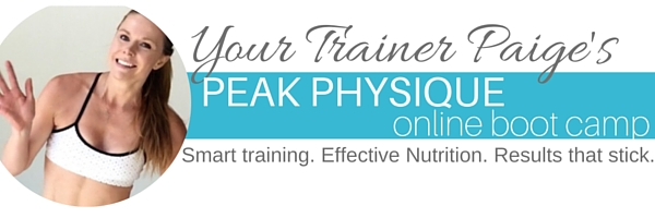 Peak Physique Online Boot Camp w/ Macronutrient Cycling + Nutrient Timing