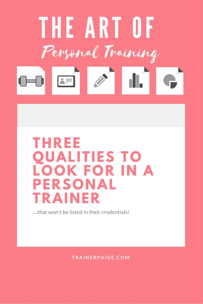 The Art of Personal Training