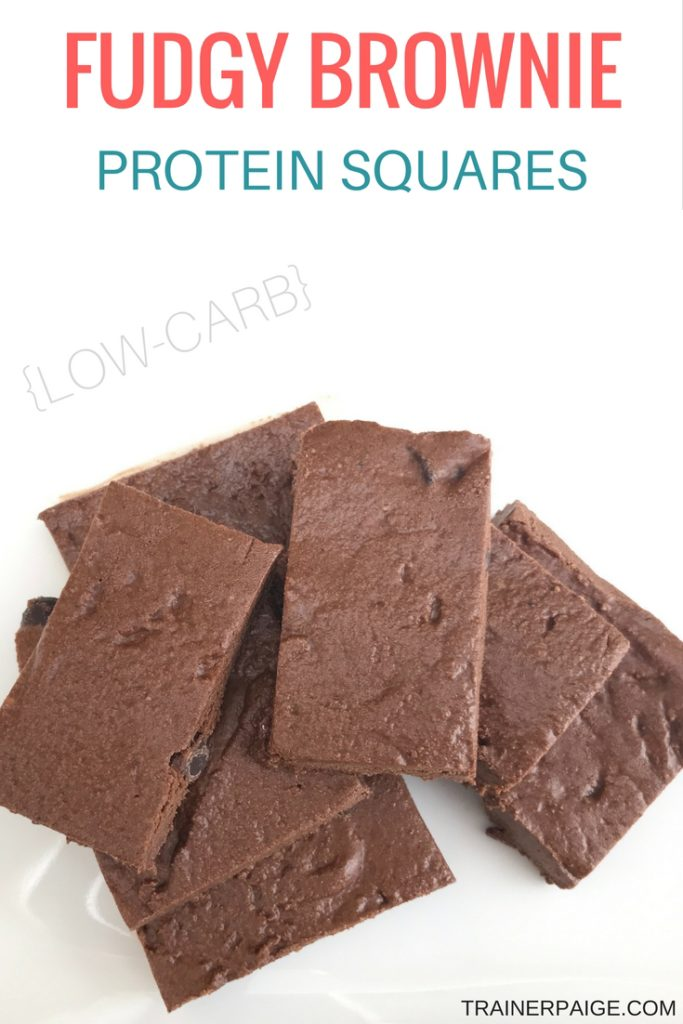 Fudgy Brownie Low Carb Protein Bars